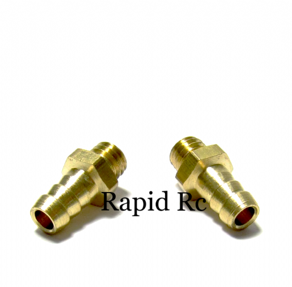 Screw In fuel Nipple M6 x 4mm Bore